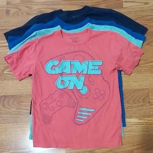 4 boys shirts